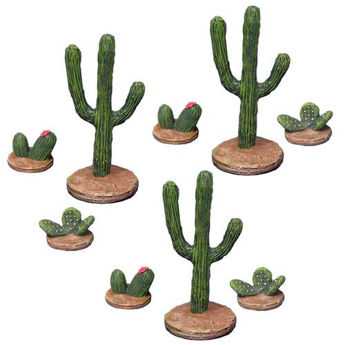 ACWD001 Western Cacti Set (9pcs)