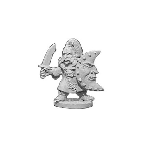 OADW201 Chaos Dwarf w/ Sword & Shield 28mm