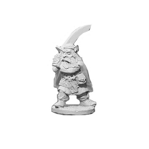 OADW105 Chaos Dwarf w/ Two Handed Scimitar 28mm