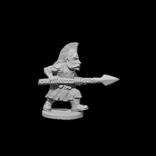 OADW103 Chaos Dwarf Berserker w/ Spear