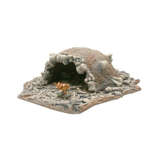 TKB001 Troll Cave with Bone Rubble