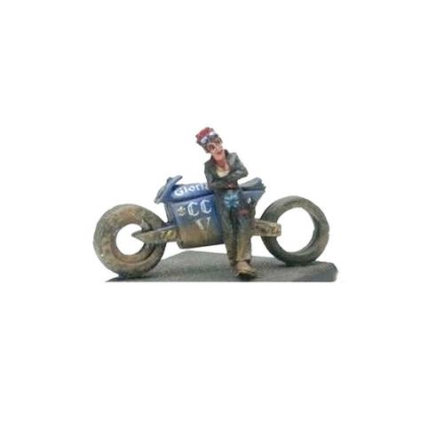 LLSF0300 Biker Chick with Cyberbike