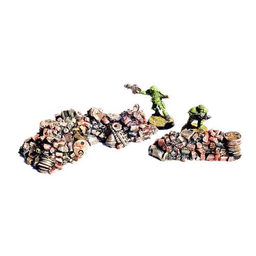 ACRD006 Brick & Metal Rubble Piles