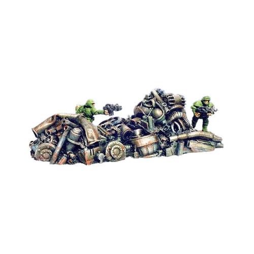 ACRD008 Medium Scrap Metal Pile