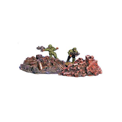 ACRD004 Brick & Metal Rubble Piles (2 pcs)