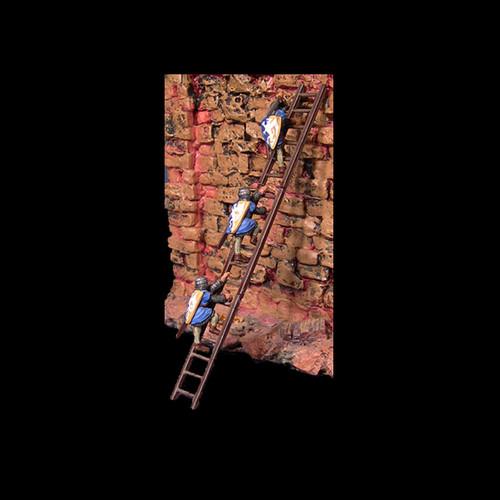ACMS001 Siege Ladder w/ 3 Soldiers
