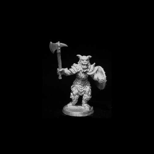 LL00207 Beastman w/ Axe & Shield