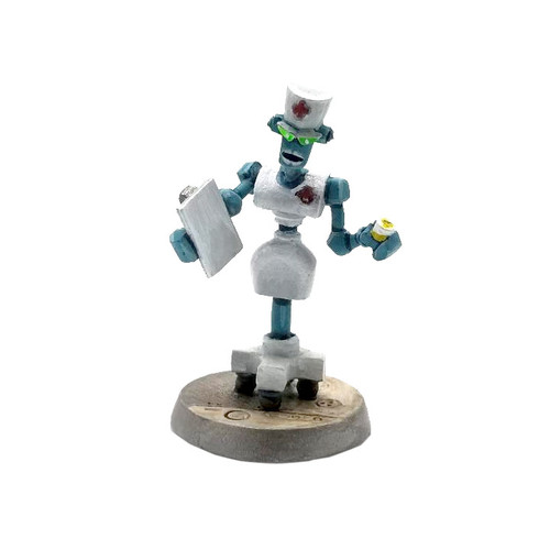Nurse Crankcase Bot 3000 - Front View