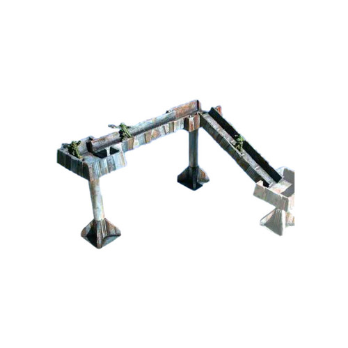 "ACTW009 6"" Tall Small Platforms w/ Two Ramp Set"