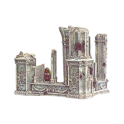 ACC004 Ruined Cathedral Outside Corner (2 pcs)