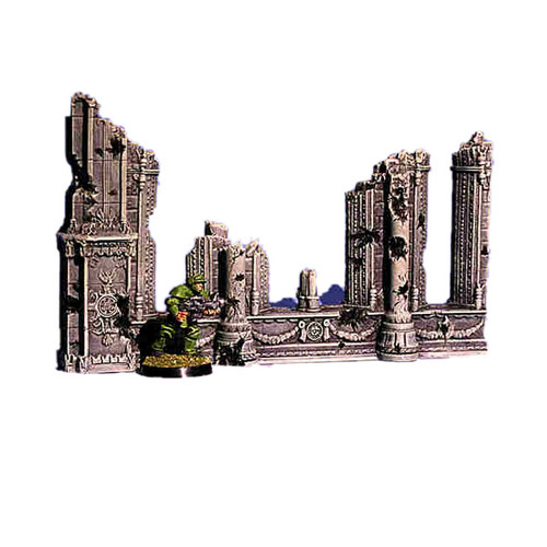 ACC009 Ruined Cathedral End Wall (1 pc)