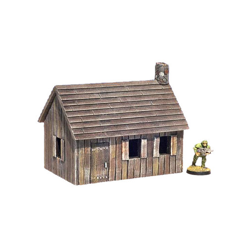 "ACMV1251 3"" x 4.5"" Wooden Cottage"