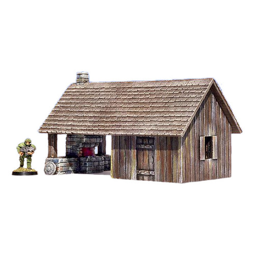 "ACMV1214 3"" x 6"" Blacksmith Shop"