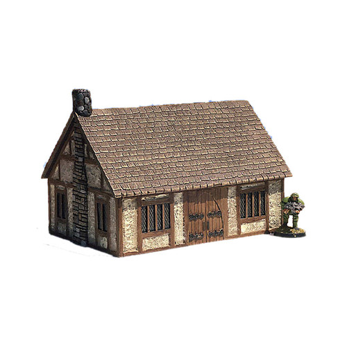 "ACMV1220 4""x 6"" Medieval Cottage (7 pieces)"