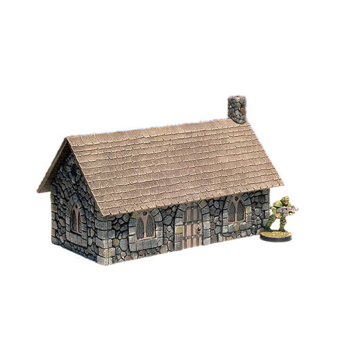"ACMV1217 3"" x 6"" Stone Cottage"