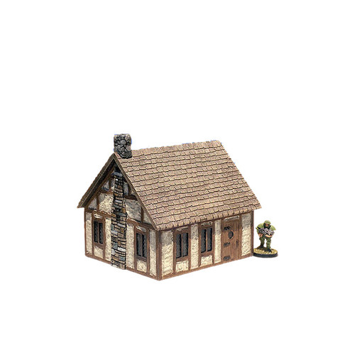 "ACMV1219 4""x 5"" Medieval Cottage (7 pcs)"