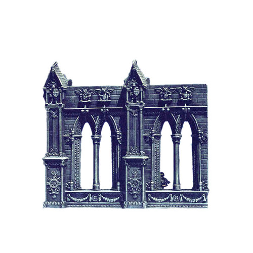 ACC010 Cathedral, Straight Wall (2pcs)