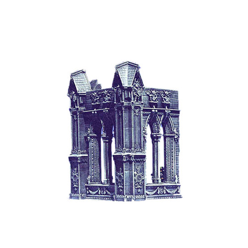 ACC011 Cathedral, Corner Wall (2pcs)