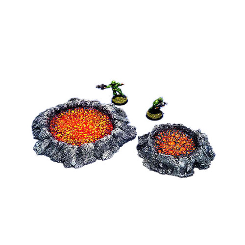 ACCR002 Bubbly Craters (2pcs)