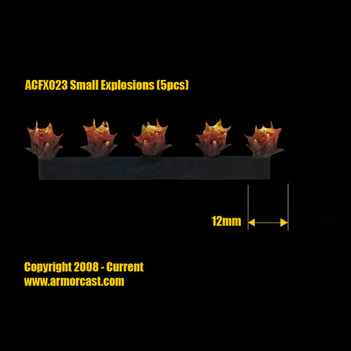 ACFX023 Small Explosions (5pcs)