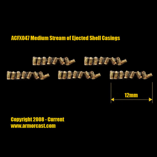 ACFX047 Medium Stream of Ejected Shell Casings