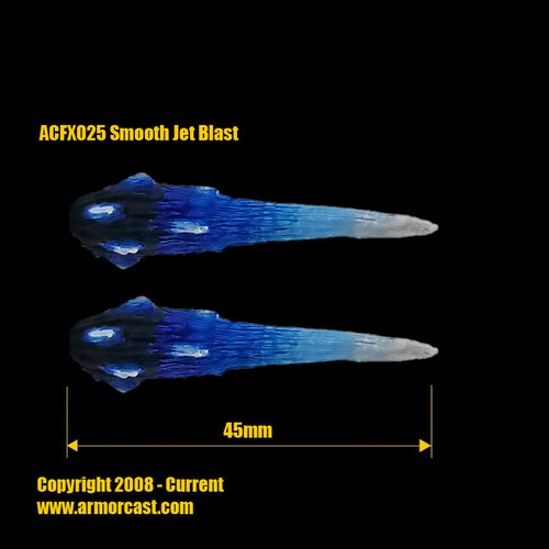 ACFX025 Smooth Jet Blast (2pcs)