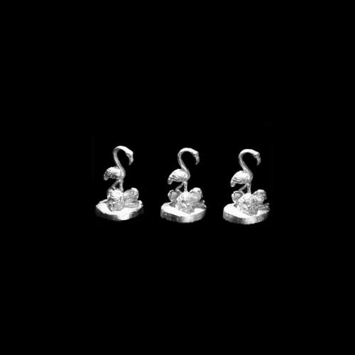 LL00140 Flamingos and Skulls (3pcs)