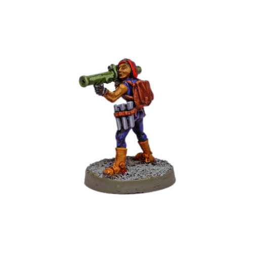 "SC0102 Human Salvage Crew Member ""Salma"" w/ Bazooka"