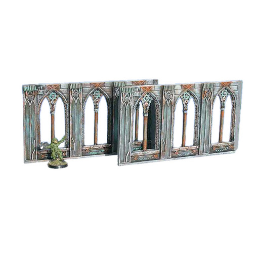 ACGT008 Gothic Wall Extensions (2pcs)