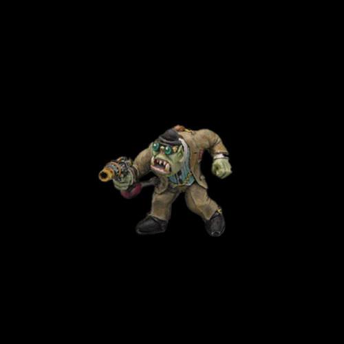 LLSP101 Dr Orcson SteamPunk Orc Investigator