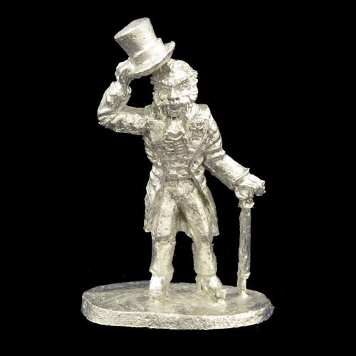 LLSP103 Male Vampire in Victorian Frock & Top Hat