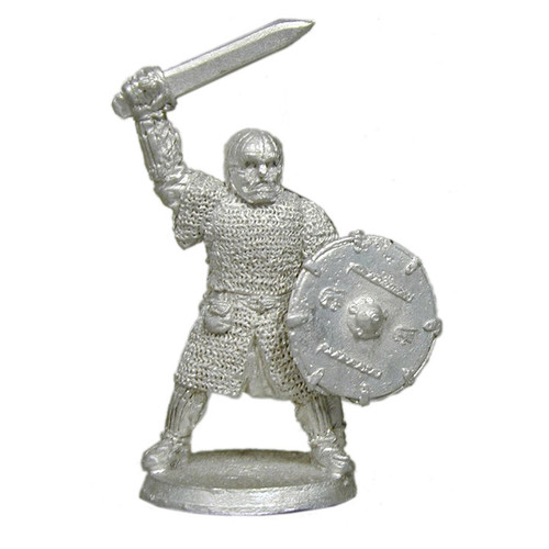 LL04028 Vendel / Saxon King in Full Armor