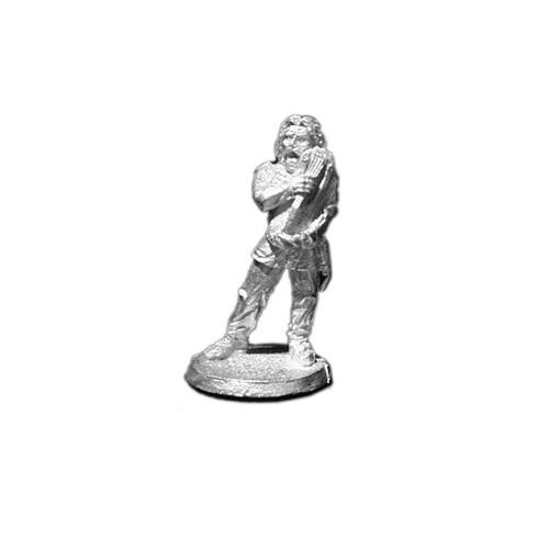 LL04034 Vendel / Saxon Bard w/ Harp