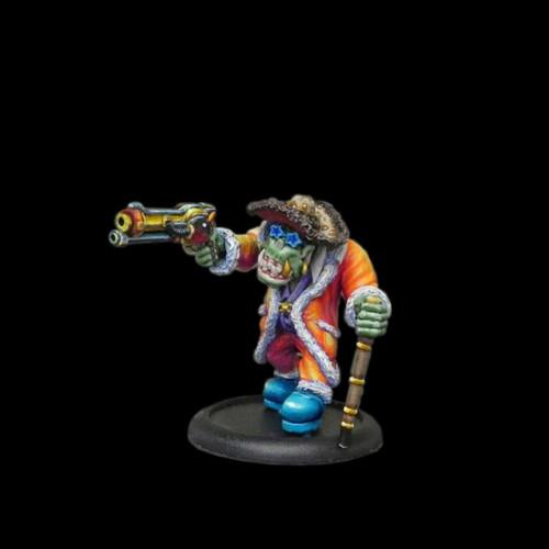LLSF010 Pimp Orc w/ Cane & Pistol