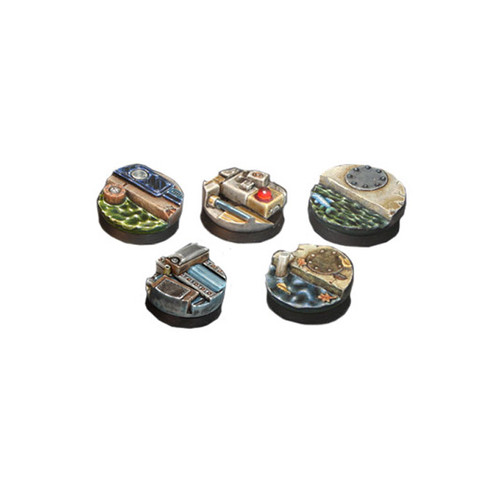 SLB001 25mm Round Techno Sewer Bases (5pcs)
