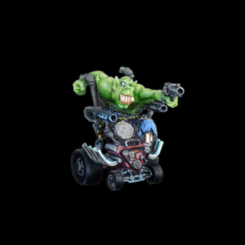 LLSF051 Orc w/ Motorized Wheelchair w/ Guns