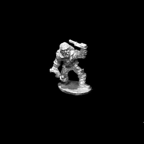 LL00115 Rogue Adventurer w/ Throwing Dagger and Gear
