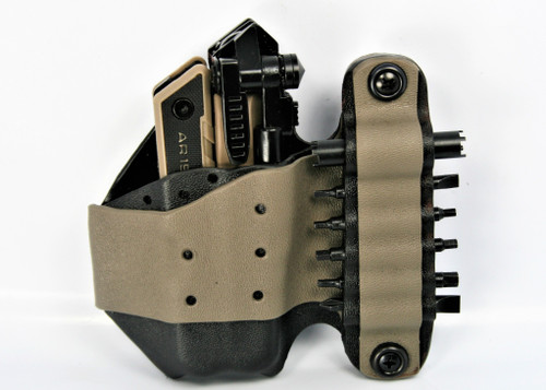Rifle Caddy - Center Console Firearms Holders for Vehicles