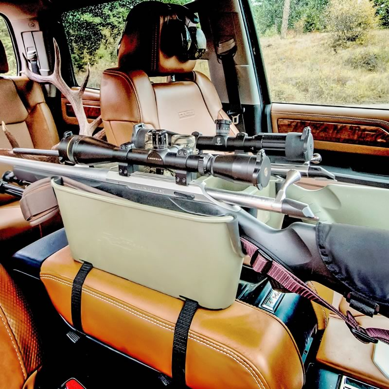 Rifle Caddy in action. Voted best new hunting product!