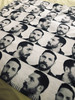 Tom Hardy Profile KiSS Blanket - Fans - Warrior, Bane, Inception, Venom - Christmas or Birthday Valentines present idea - Gift for Her