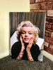 Marilyn Tattooed KiSS Canvas or Poster - Monroe Inked - Tattoo Sleeve - Wall Art - Gorgeous Decor Modern