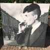 Peaky Blinders Tommy Shelby KiSS Canvas - Cillian Murphy, UK TV Show - Smoking - father's day Gift Idea - Gangster - Wall Art