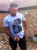 Tom Hardy Characters KiSS T-Shirt - Faces Profile - Warrior, Bane, Inception, Venom - Christmas or Birthday present idea