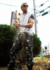 Skull Print KiSS Cut & Sew Shorts or Joggers - Ryan Gosling - The Place Beyond the Pines inspired - Movie - Skulls Crossbones