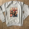 Friends Santa Hats KiSS Sweatshirt - TV Show inspired - Cast Christmas Jumper - Rachel Monica Phoebe Joey Chandler Ross
