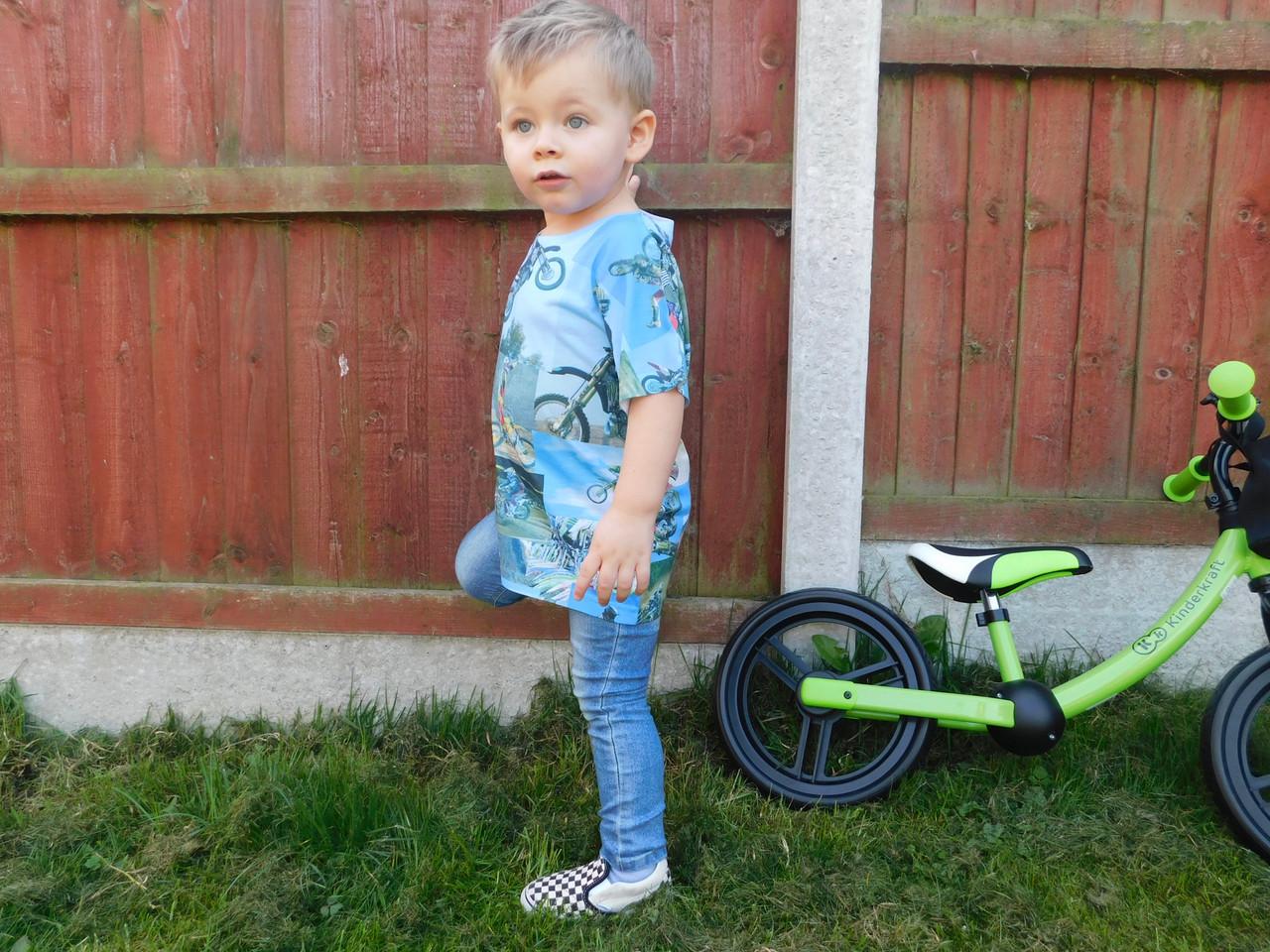 Motox Kiss Kids All Over T Shirt Motocross Dirt Bike Motorbike Tyler Durden Inspired Cool Toddler