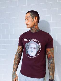 Hello Mrs Doubtfire KiSS T-Shirt - Robin Williams - Comedian Legend - Funny shirt - Humour - madness - Gift Idea