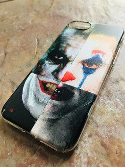 4 Jokers KiSS Phone Case - Jack Nicholson, Heath Ledger, Jared Leto, Joaquin Phoenix - Why so Serious - Batman - Suicide Squad Joker Dark