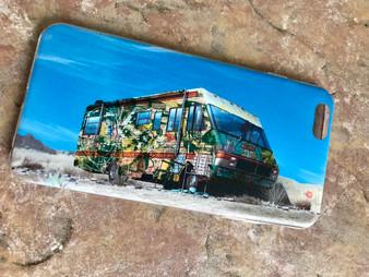 Breaking Bad Graffiti KiSS Phone Case - New Mexico RV Tv Show Inspired - Aaron Paul - Bryan Cranston - Stocking Filler Birthday Present