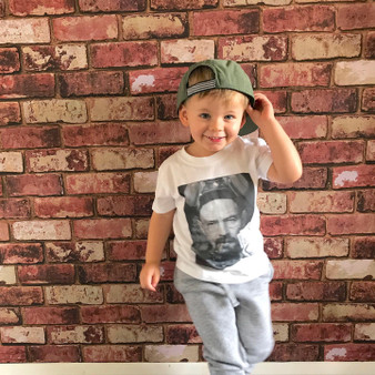 Bad Walt KiSS KIDS T-Shirt - Jesse Pinkman and Walter White - Baby/Toddler Cute Clothing - Breaking Bad Inspired
